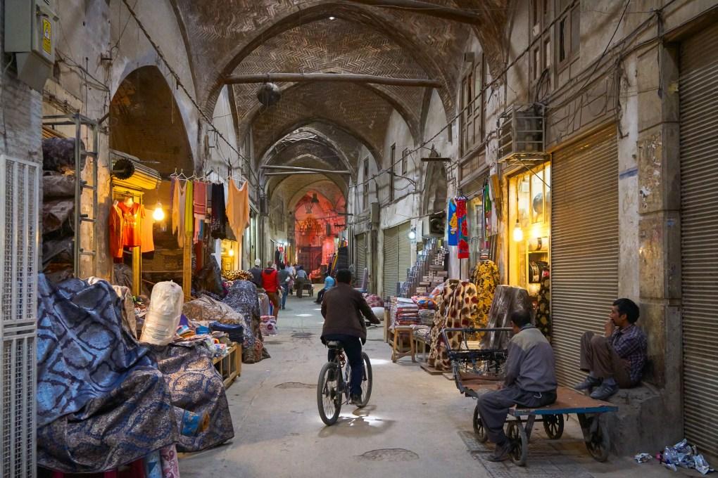bazaar isfahan iran