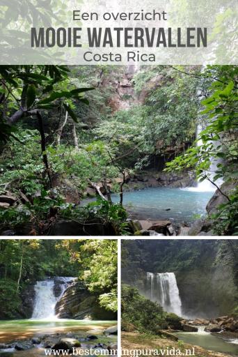 Mooie watervallen Costa Rica