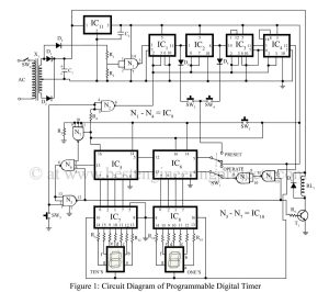 Programmable Digital Timer Circuit  Best Engineering Projects