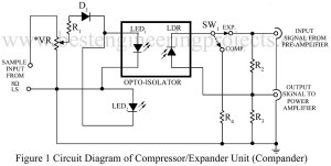 circuit diagram of compressor expander unit