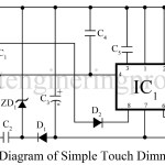 Touch Dimmer Circuit