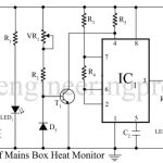Mains box heat monitor