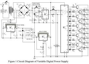 Universal Digital Power Supply Circuit | Power Supply