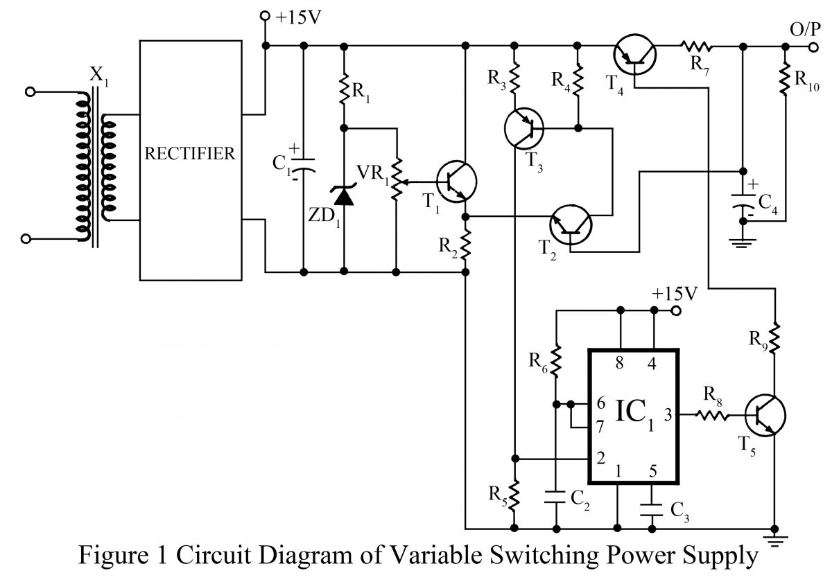 Variable Switching Power Supply