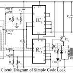 Electronic Code Lock Circuit
