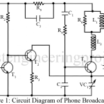 Phone Broadcaster Circuit | Basic Electronic Projects