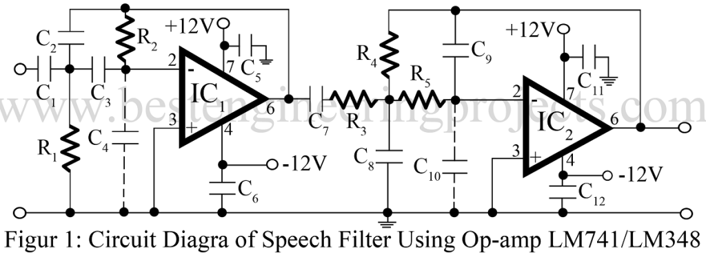 speech filter circuit