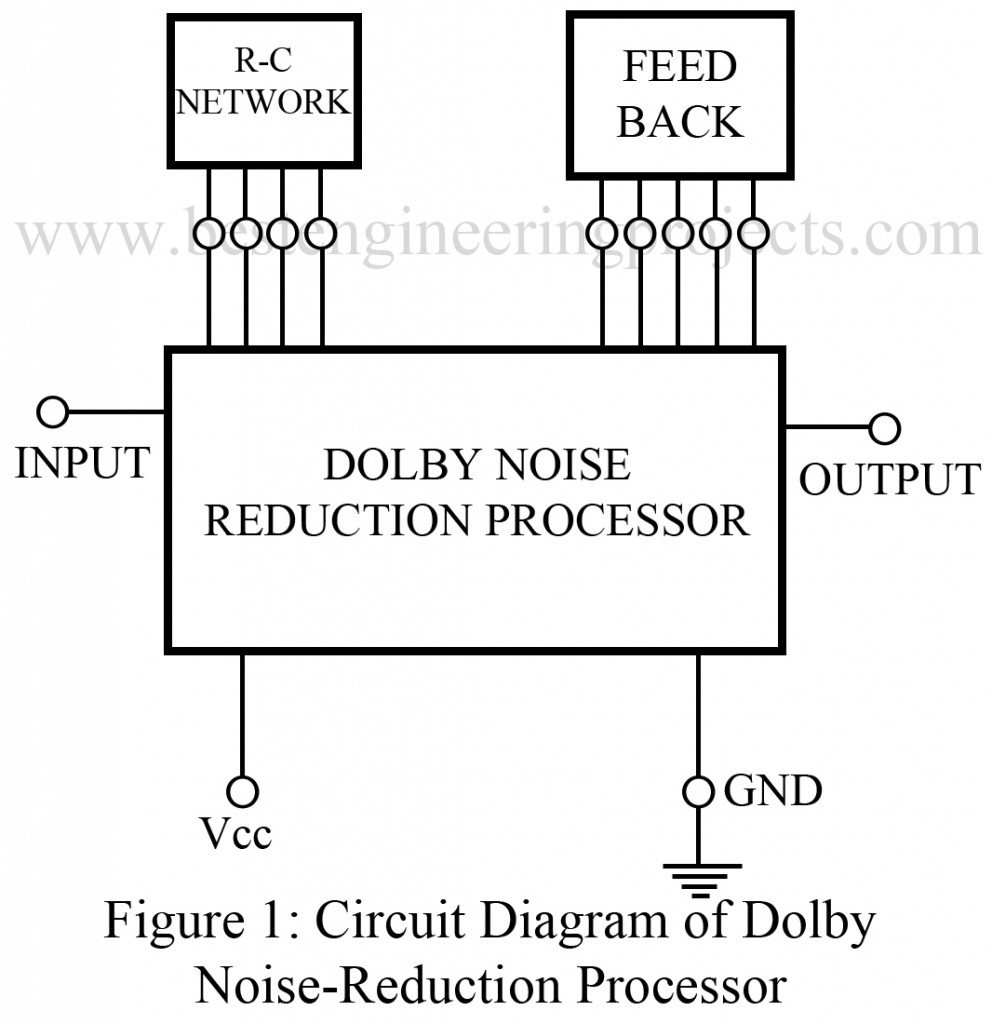 circuit diagram of dolby noise reduction processor