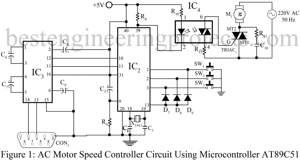 Fine 3 Phase Ac Motor Control Contemporary - Electrical Circuit ...