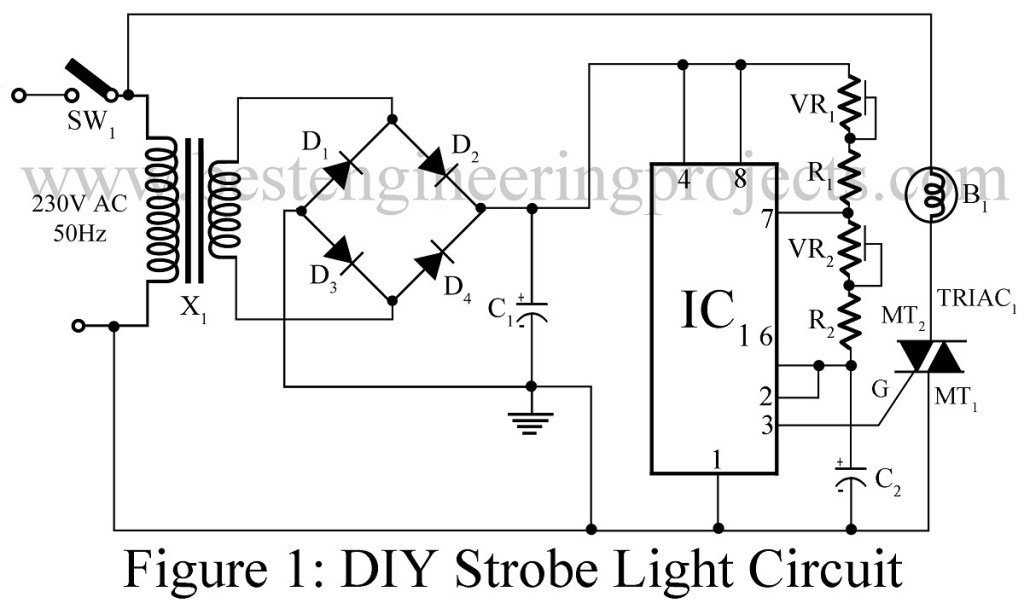 diy strobe light circuit