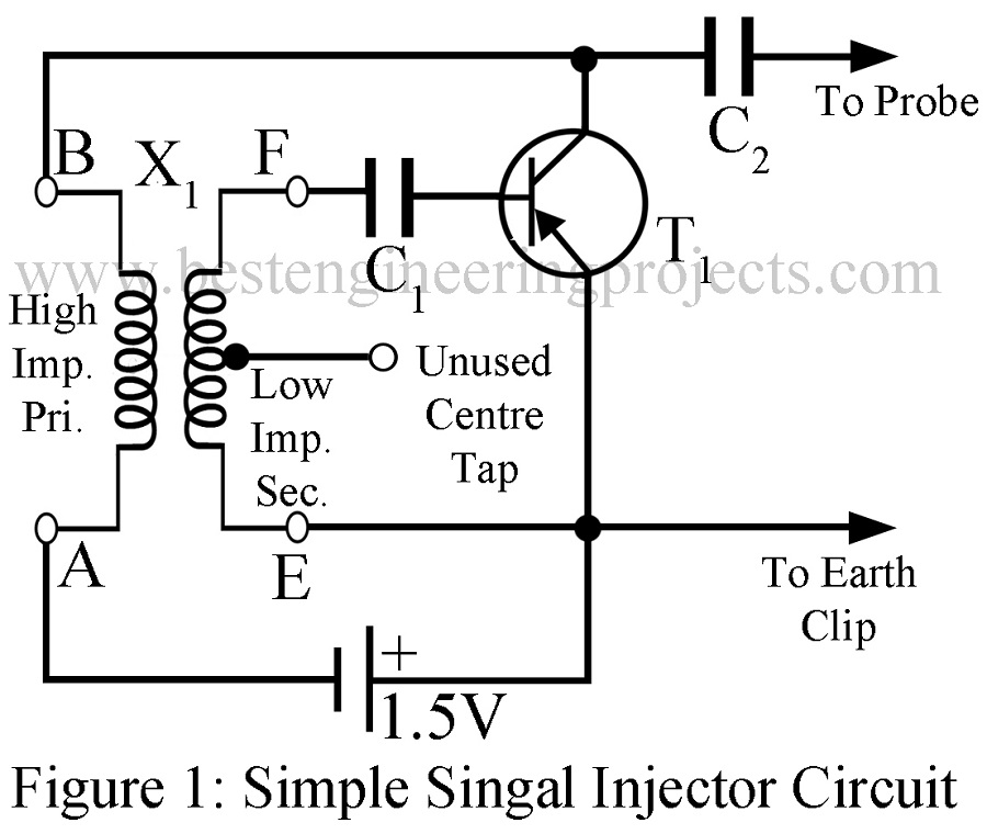 Simple Signal Injector Circuit