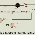 Automatic Night Lamp Circuit