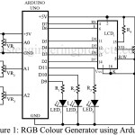 RGB Colour Generator using Arduino