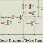 Solder Fumes Extractor Circuit