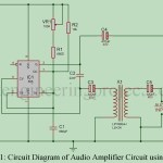 Audio Amplifier Circuit Using 555 IC