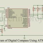 DIY Digital Compass using ATmega8