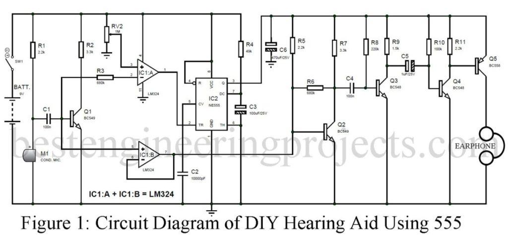 diy hearing aid circuit