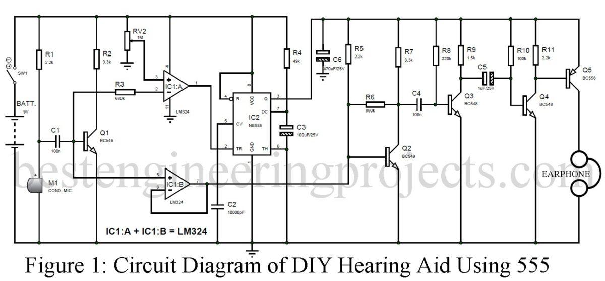 Hearing Aids Circuit