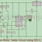 Servo Motor Tester Circuit Using 555 IC
