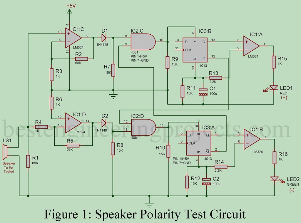 loud speaker polarity tester