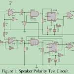 Speaker Polarity Test Circuit