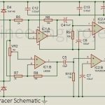 Audio Signal Tracer Schematic