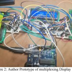 Multiplexed 4 LCD Display using Arduino UNO