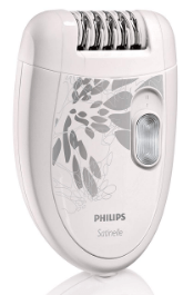 PHILIPS HP6401 SATINELLE EPILATOR WHITE