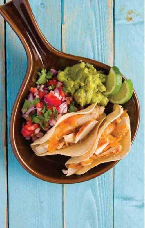 doTERRA Lime Chicken Tacos Recipe with Lime Essential Oil
