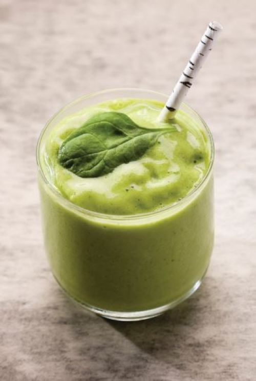 doTERRA Green Machine Smoothie with Slim & Sassy TrimShake Recipe