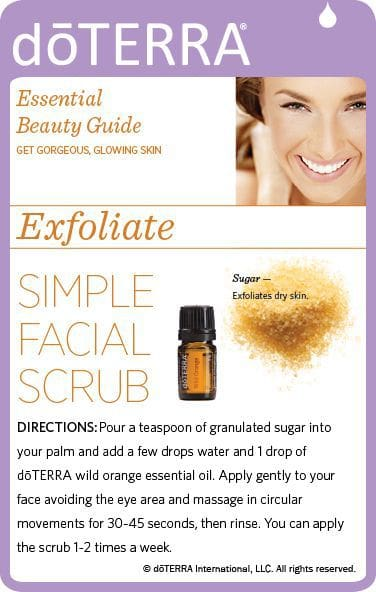 DoTERRA Essential Oils To Maintain Clear Skin Best