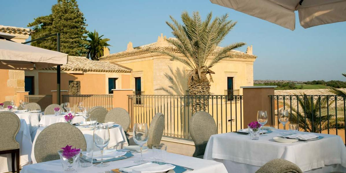 Al Fresco Terrace For Events, Donnafugata Golf Resort & Spa, Prestigious Venues