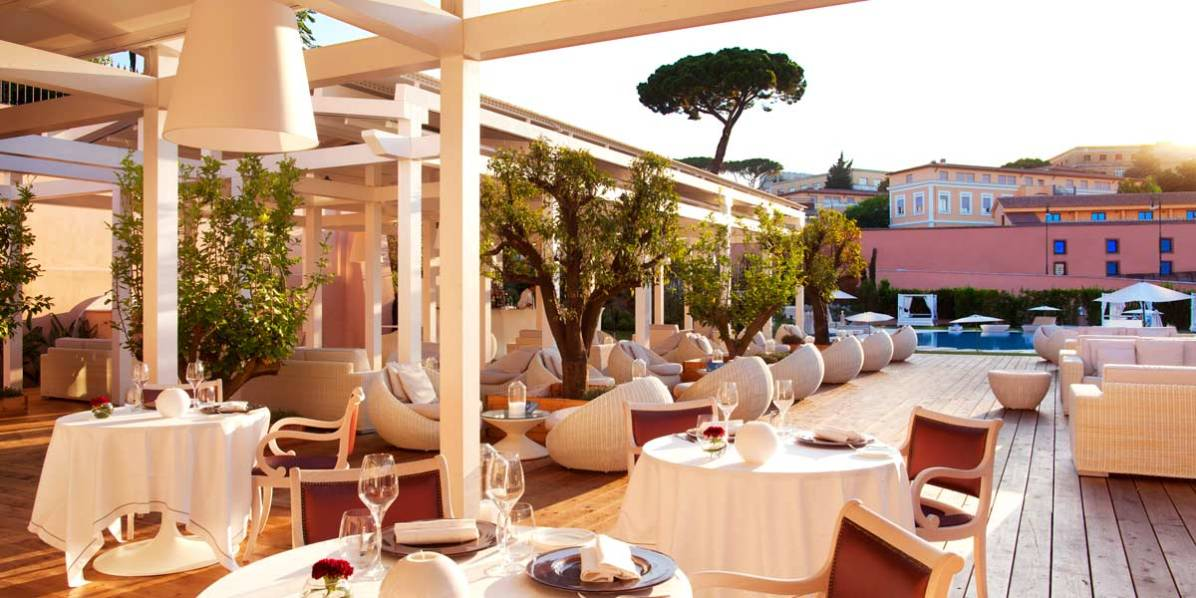 Group Private Dining Venue, Gran Melia Rome Villa Agrippina, Prestigious Venues