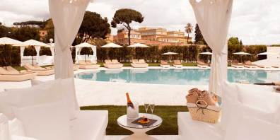 Outdoor Venue Space In Rome, Gran Melia Rome Villa Agrippina, Prestigious Venues