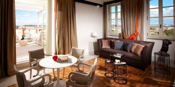Penthouse With Vatican Views In Rome, Gran Melia Rome Villa Agrippina, Prestigious Venues