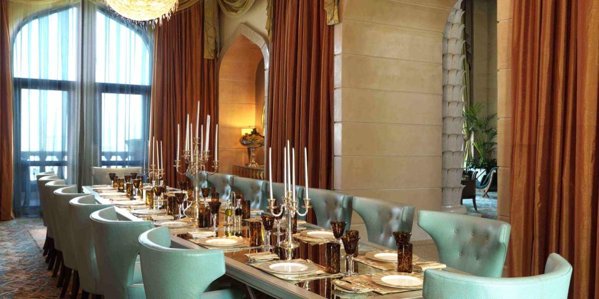 Private Dining Venue In Dubai, Atlantis The Palm, Dubai, Prestigious Venues