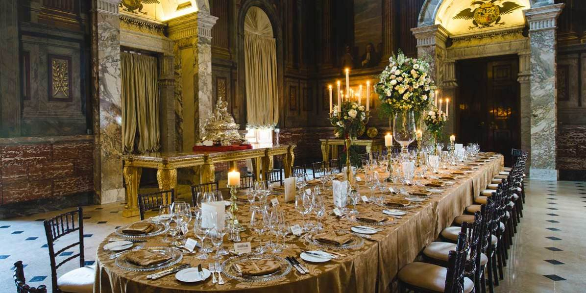 Private Dining in The Saloon, Blenheim Palace, Prestigious Venues