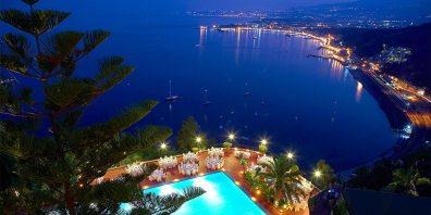 Poolside Ocean View Event, Sicily, Benvenuto, Hotel Villa Diodoro, Prestigious Venues