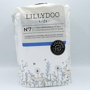 Einzelpackung Vorderseite der Lillydoo Pants 6 und 7 (Hier Größe 7)