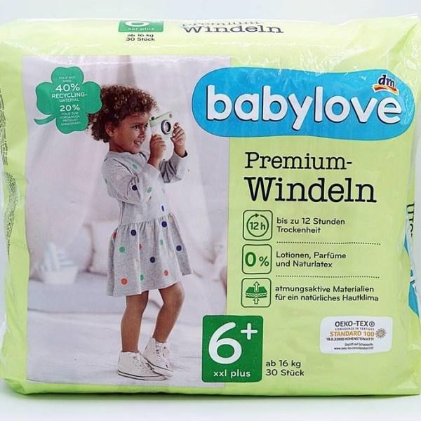 Einzelpackung Babylove Windeln Cover