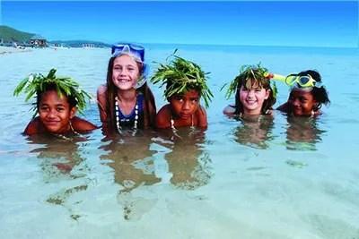 Family vacations in Fiji