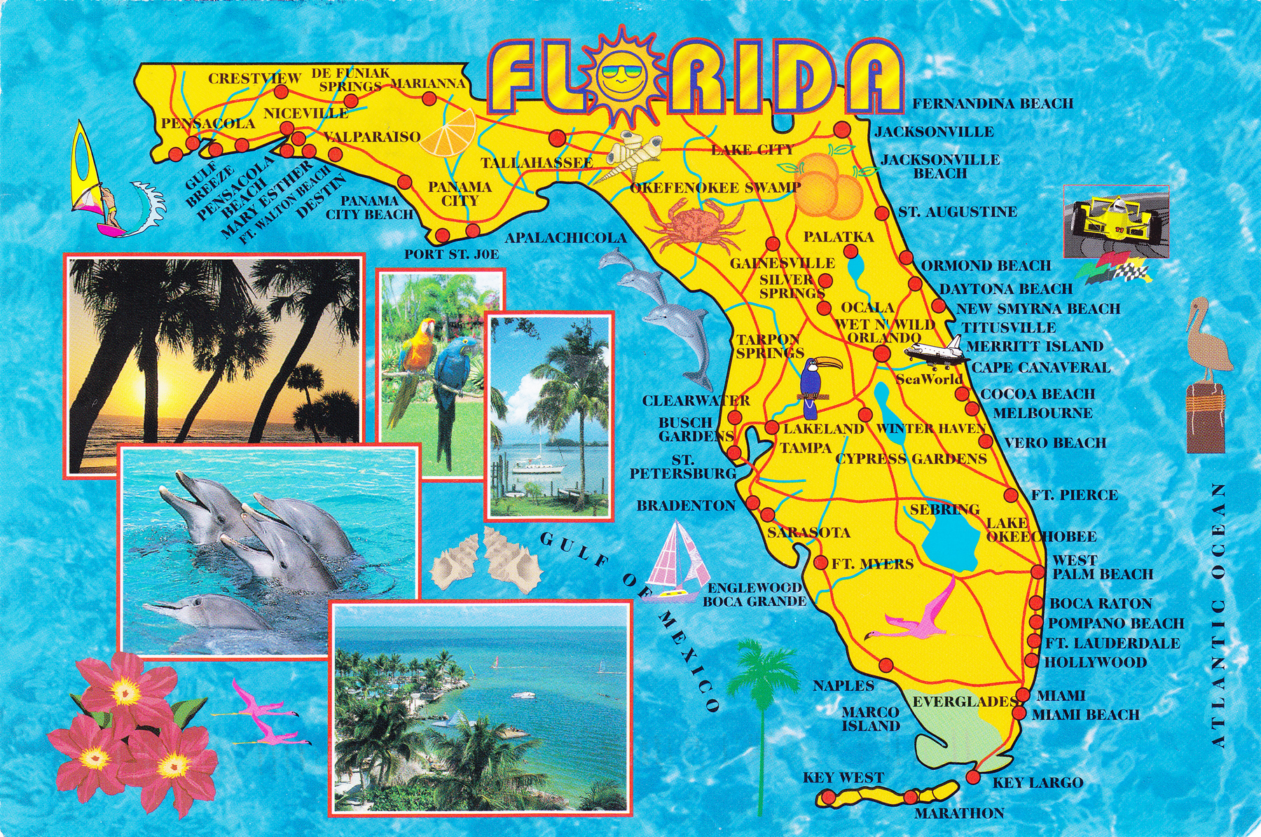 Florida Beaches Gulf Coast Map Is a Florida Beach Front Vacation Right for You?