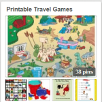 Printable Travel Games and Games to Play While Travelling