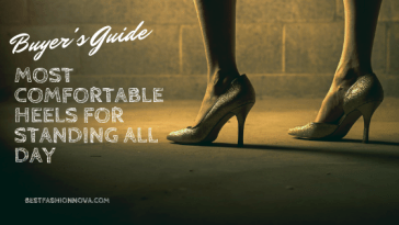 most comfortable heels for standing all day