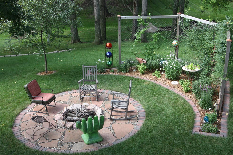 Backyard Fire Pit Landscaping Ideas | Fire Pit Design Ideas on Garden Ideas With Fire Pit id=29971