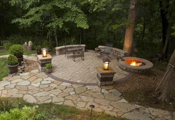 outdoor fire pit patio design ideas Backyard Patio Ideas With Fire Pit | Fire Pit Design Ideas