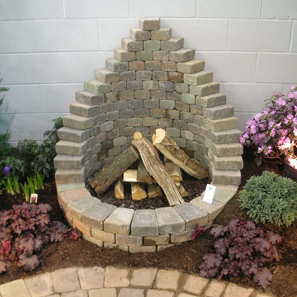 DIY Fire Pit Easy | Fire Pit Design Ideas on Diy Outdoor Fire  id=65362
