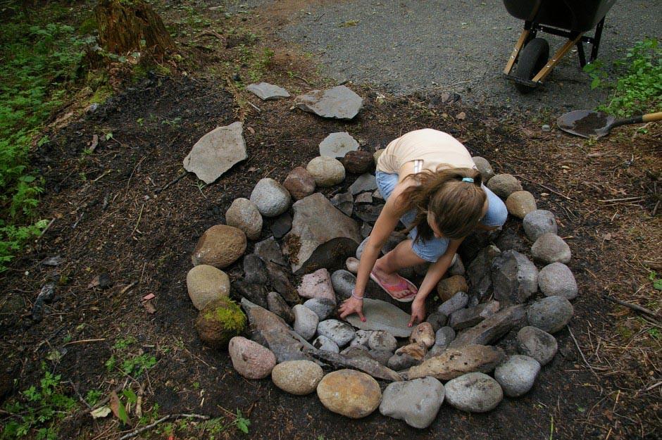 Rocks For Fire Pit Fire Pit Design Ideas