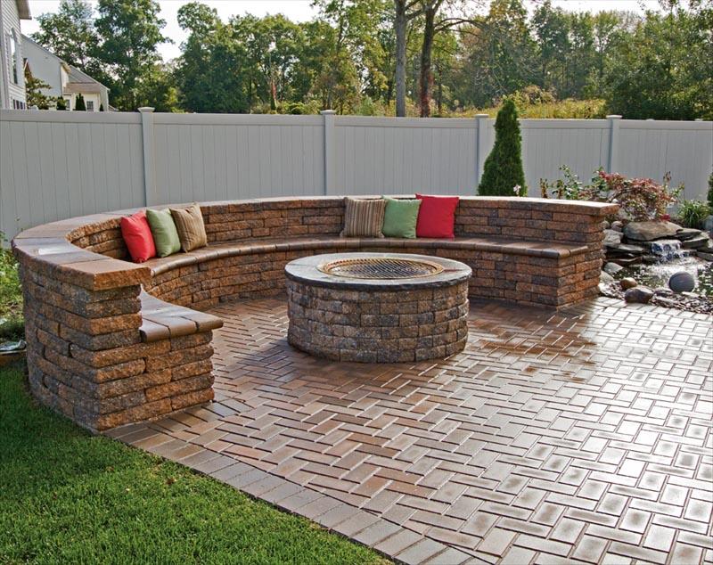 Paver Patio Fire Pit Designs | Fire Pit Design Ideas on Paver Patio Designs With Fire Pit id=94385