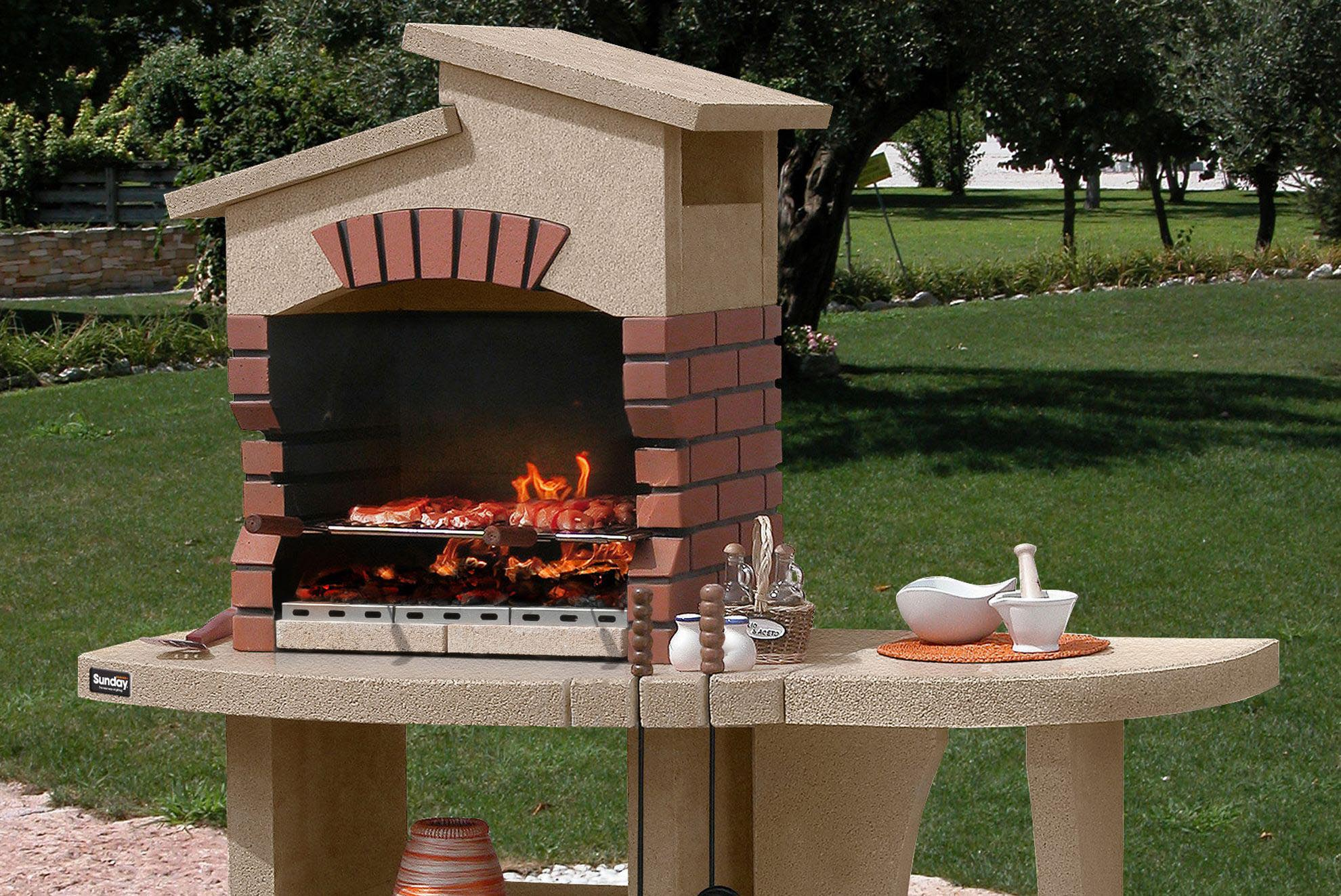 create brick bbq plans before building barbeque or grill fire pit design ideas